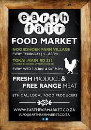Noordhoek Earth Fair Food market