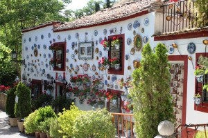 Gipsy house at foot of Sacromonte