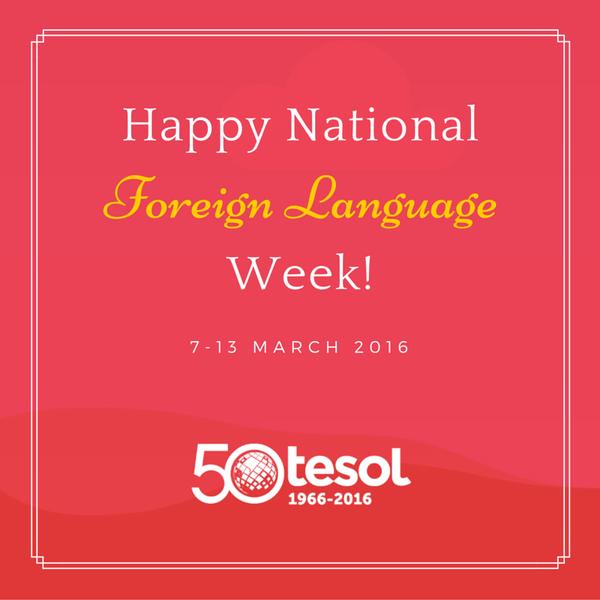 Foreign language week